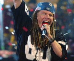 Guns N' Roses at the Warfield (Review)
